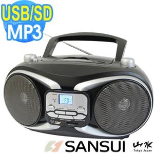 福利品《山水》CD/MP3/USB/SD手提音響SB-88N