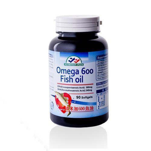 【營養補力】歐米加600魚油膠囊