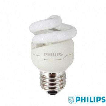 【飛利浦】T2-5W超亮螺旋省電燈泡4入超值組(2色)
