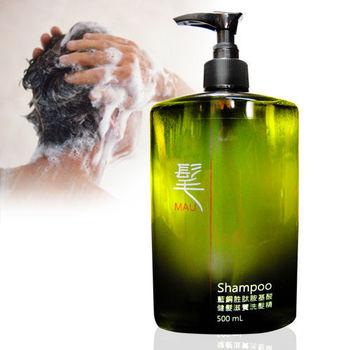 【髦男堂】藍銅胜肽胺基酸健養滋髮洗髮精(500ML)*1入