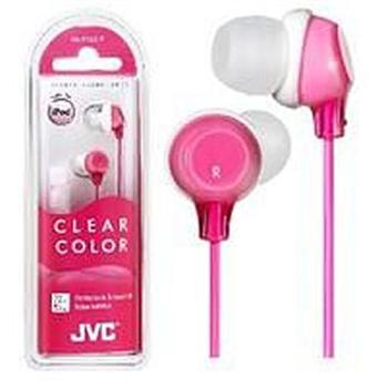JVC HA-FX22 密閉型立體聲耳機(粉紅)