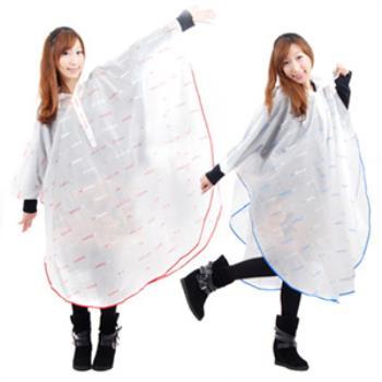 東伸 日系EVA斗篷式雨衣