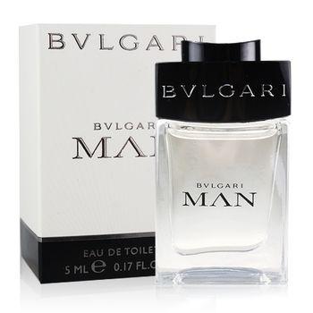 Bvlgari 寶格麗 MAN當代男性淡香水小香(5ml)