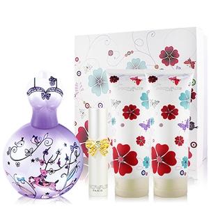 NOVAE Plus夏日派對女性淡香精-浪漫紫50ml送禮盒+針管