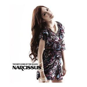 [ NARCISSUS ] 波浪荷葉造型 雪紡印花洋裝