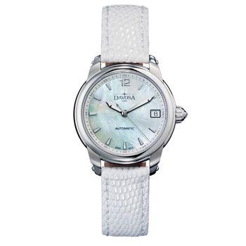 DAVOSA Ladies Delight 女錶系列/白/白色錶帶