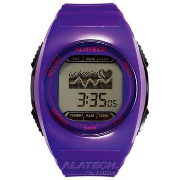 ALATECH FB005 專業健身 心率錶- 紫色