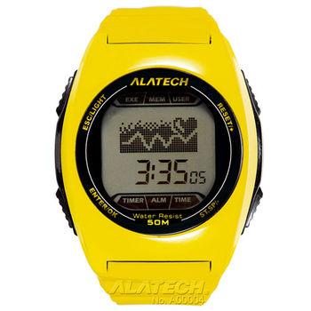 ALATECH FB005 專業健身 心率錶 - 黃色
