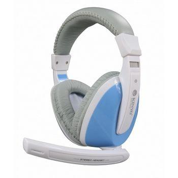 【KINYO】冰火全罩式重低音耳機麥克風(EM-3632)