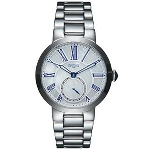 DAVOSA Calypso 時尚女錶/白珍珠貝/鋼帶
