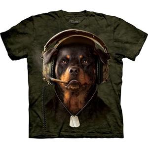 【摩達客】預購-The Mountain DJ雪茄犬 T恤-(男)網