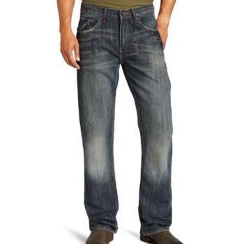 Lee 2013男麥克洗靴型設計預洗牛仔褲