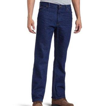 Lee 2013男正規傳統設計直腿預洗牛仔褲