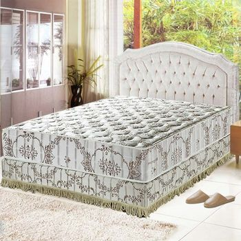 Ally愛麗 智慧涼感-抗菌蜂巢獨立筒床墊-雙人加大6尺