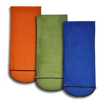 PUSH! 登山戶外用品全開式四季睡袋內膽空調被