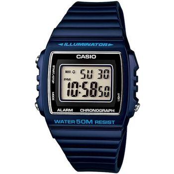 CASIO 繽紛個性馬卡龍休閒電子錶(深藍)