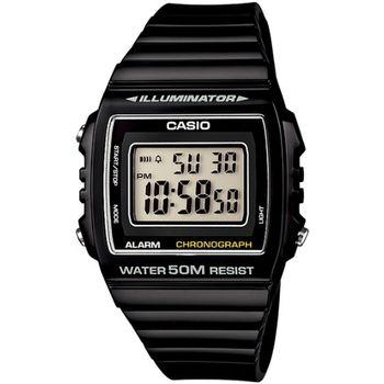 CASIO 繽紛個性馬卡龍休閒電子錶(黑)