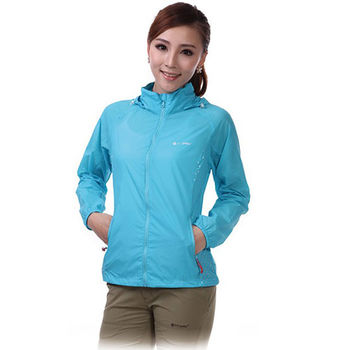 PUSH!機能服飾 抗紫外線50+UPF防浸水透氣速乾外套(多色)