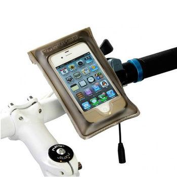 PUSH! 自行車用品IPHONE4/4S專用TPU防水觸控手機袋