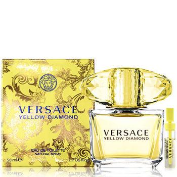 Versace 凡賽斯 香愛黃鑽女性淡香水(50ml)-送品牌針管