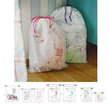 PUSH! 旅行用品 收納袋分類袋七件套
