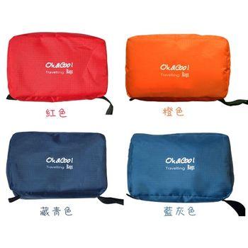 PUSH!旅行用品 防水防汙防撕裂 盥洗用具包