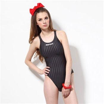 【≡MARIUM≡】大女競賽型泳裝─灰色(MAR-8003W)低叉