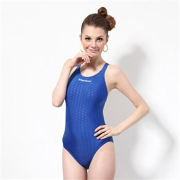 【≡MARIUM≡】大女競賽型泳裝─寶藍(MAR-8002W)低叉