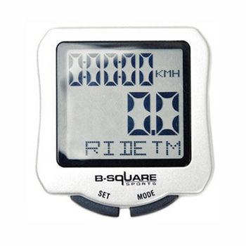 PUSH!自行車用品 防水背光17功能自行車有線碼表 馬錶