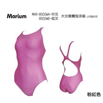 【≡MARIUM≡】大女競賽型泳裝-小月型印花(MAR-8002)