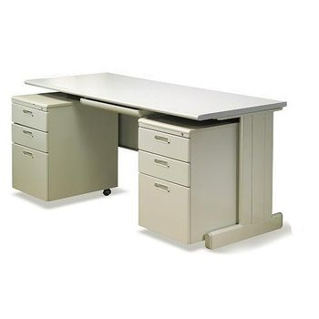 【時尚屋】HU150灰色辦公桌櫃組263-25