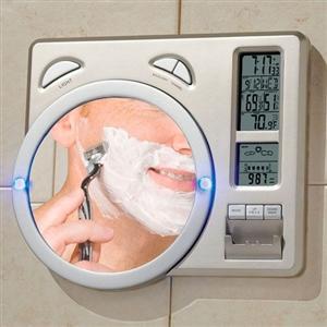 PUSH! LCD時鐘 溫度計 濕度計 氣象站 萬年曆 鬧鐘