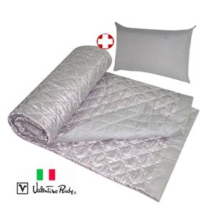 《限量搶》【Valentino Rud】舒眠竹碳涼被+枕頭超值組