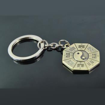 PUSH!Innovation 嚴選 太極八卦 鑰匙圈 鑰匙扣