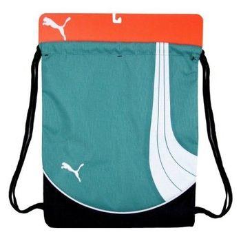 PUMA 2013Team團隊體育運動綠色後背包