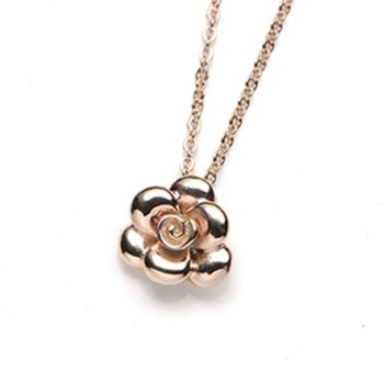 【Ge Couture】24hr能量SPA玫瑰心金屬鍺項鍊