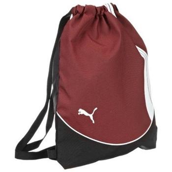 PUMA 2013Team團隊體育運動酒紅色後背包