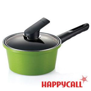【HAPPYCALL】彩色陶瓷不沾湯鍋(18cm 牛奶泡麵鍋)