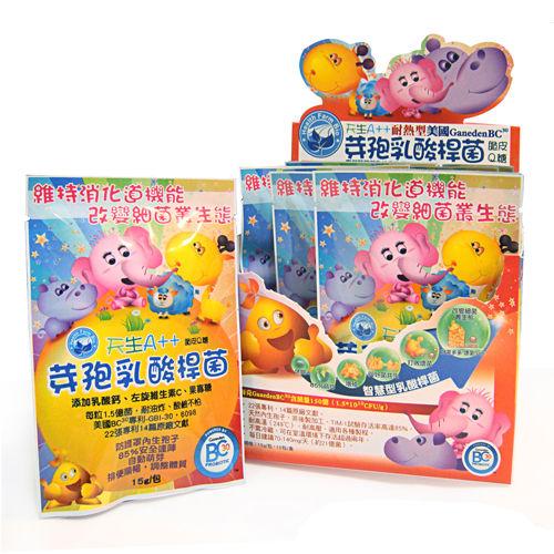 台灣康田-天生A++芽孢乳酸桿菌脆皮Q糖(10包/盒)