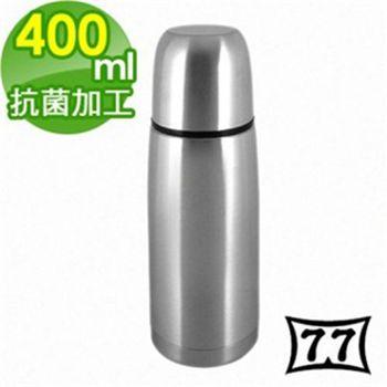 【日本77】Actiue24真空不鏽鋼保溫魔法瓶400CC(黑)