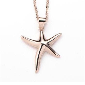 【Ge Couture】24hr能量SPA愛情海星金屬鍺項鍊