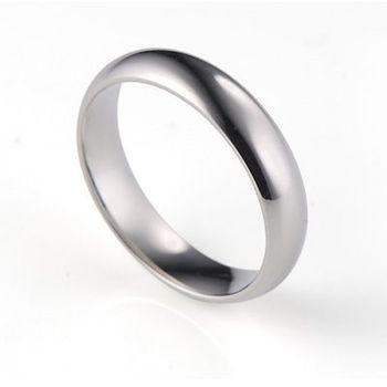 【Victoria sky】北歐極簡316L西德鋼戒指(女款)