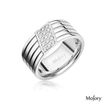 【Mojory】Diamond 鑽石方塊男戒