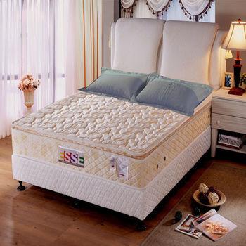 【ESSE御璽名床】三線記憶膠棉獨立筒床墊5x6.2尺(雙人尺寸)