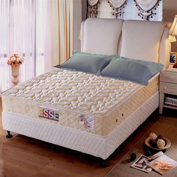 【ESSE御璽名床】記憶膠棉獨立筒床墊6x6.2尺(加大尺寸)