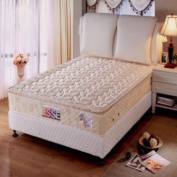 【ESSE御璽名床】三線乳膠獨立筒床墊6x6.2尺(加大尺寸)
