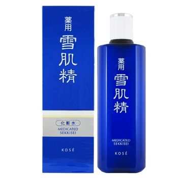 【Kose】雪肌精化妝水360ml(贈化妝包)