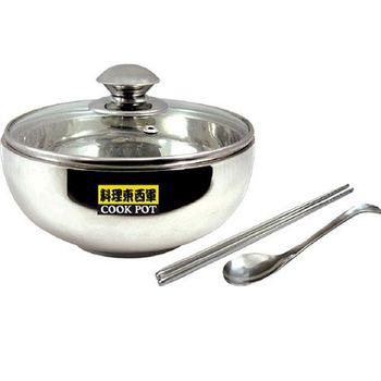 料理東西軍 韓式18cm泡麵碗4件組