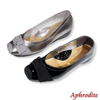 Aphrodite   【初秋新款】羊皮蝴蝶結 娃娃鞋 包鞋