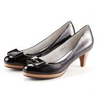 ~MISS~優雅蝴蝶亮面包鞋 ^#45